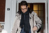 Fabio Capello leaves his Belgravia home after resigning his post