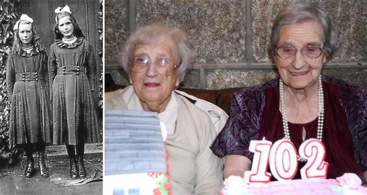 World's oldest living twins