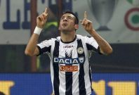 Udinese's Isla is being watched by Liverpool