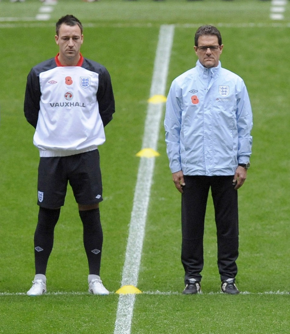 John Terry and Fabio Capello are no longer captain and manager of England respectively