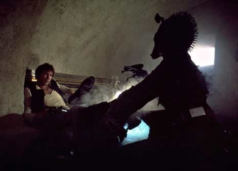 Han Solo opens fire in iconic Cantina scene of Star Wars IV