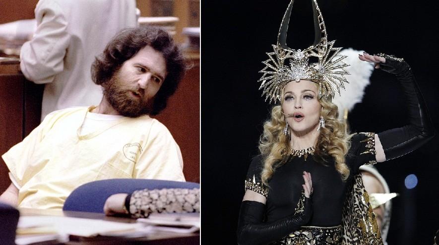 Robert Dewey Hoskins was convicted of stalking Madonna in 1996. (Reuters)
