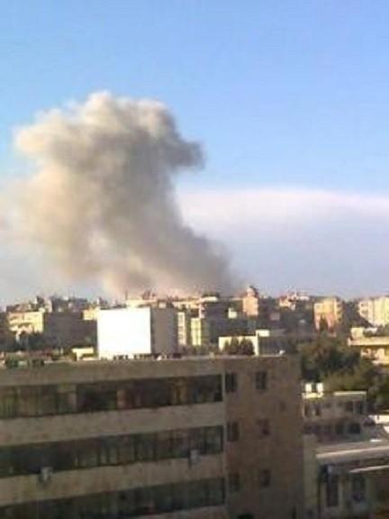 Blast in Aleppo