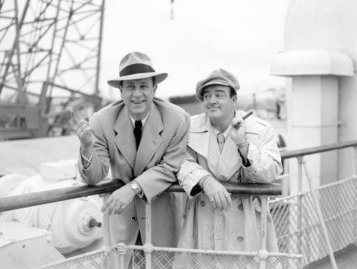 Bud Abbot and Lou Costello