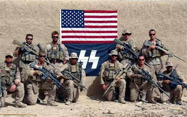 Nazi Marines made a simple mistake, say military authorities