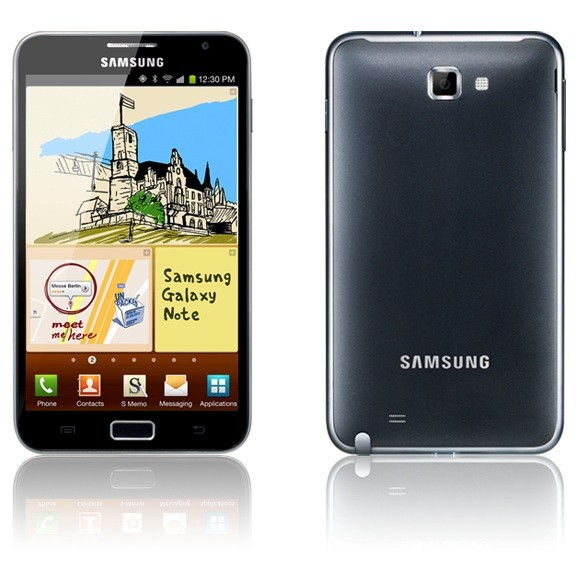 Samsung's Big Girl Galaxy Note Looking for Love: Pink Model Leaked