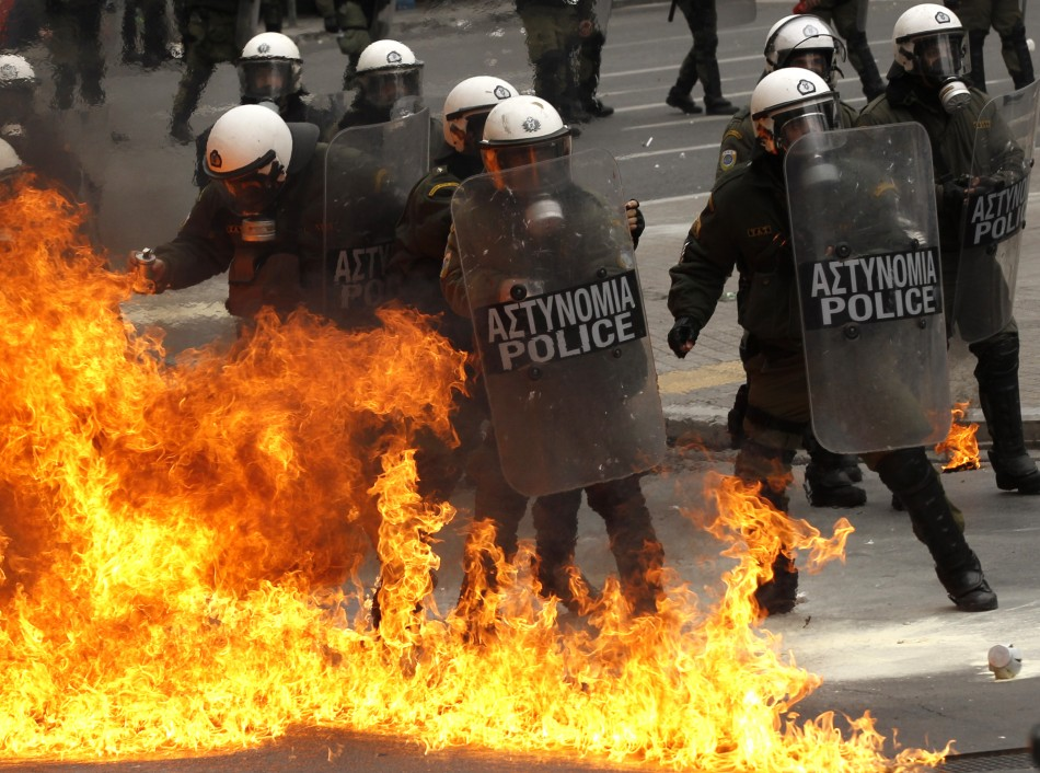 Protests, at times violent, have become common occurrences in Greece in the era of austerity