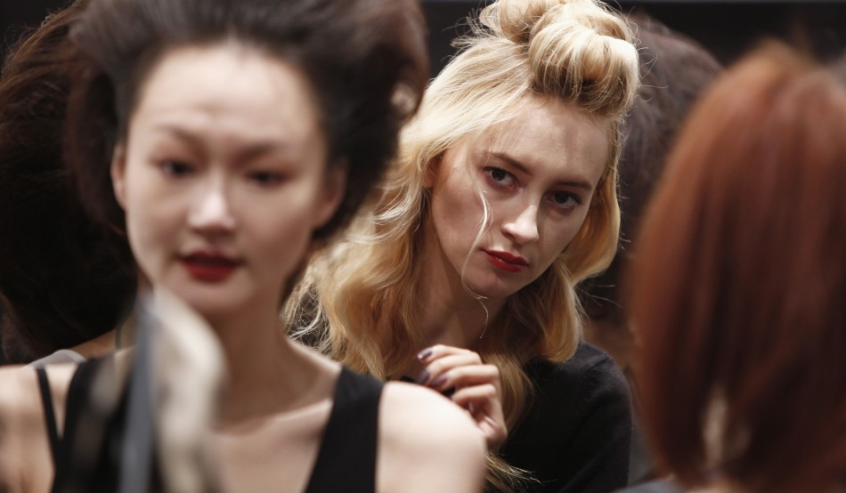 Behind the Scenes at New York Fashion Week 2012