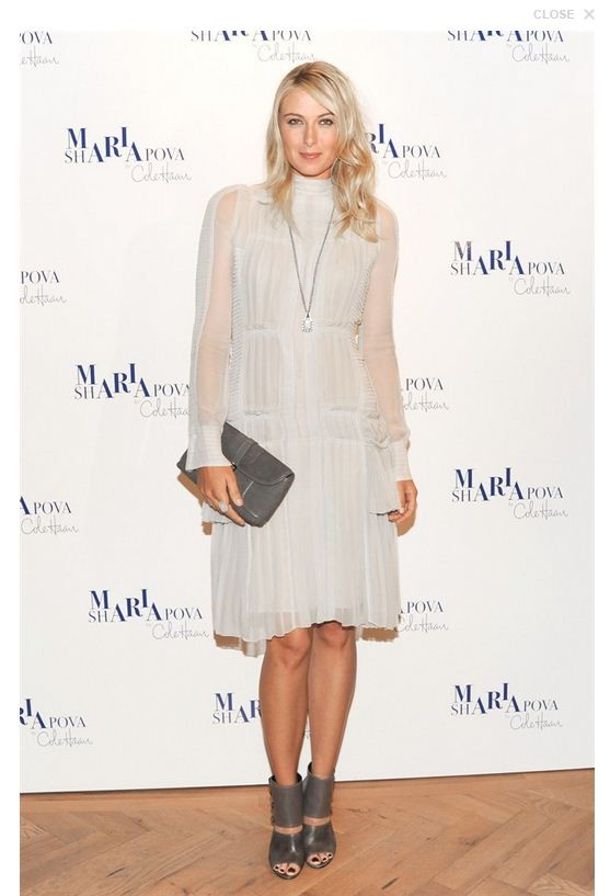 Maria Sharapova : Cole Haan Fall Collection Launch Event