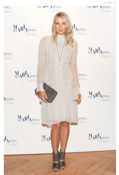 Maria Sharapova  Cole Haan Fall Collection Launch Event