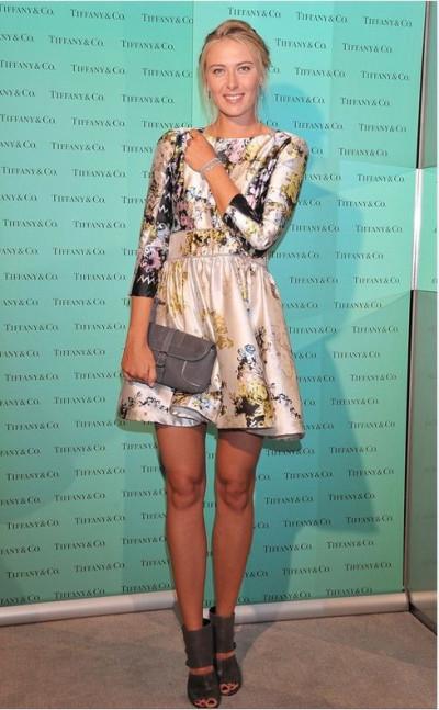 Maria Sharapova Tiffany  Co. Tokyo Event