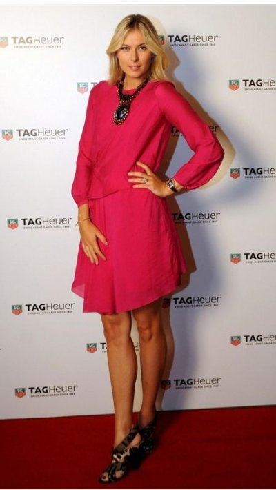 Maria Sharapova  TAG Heuer Event in Istanbul