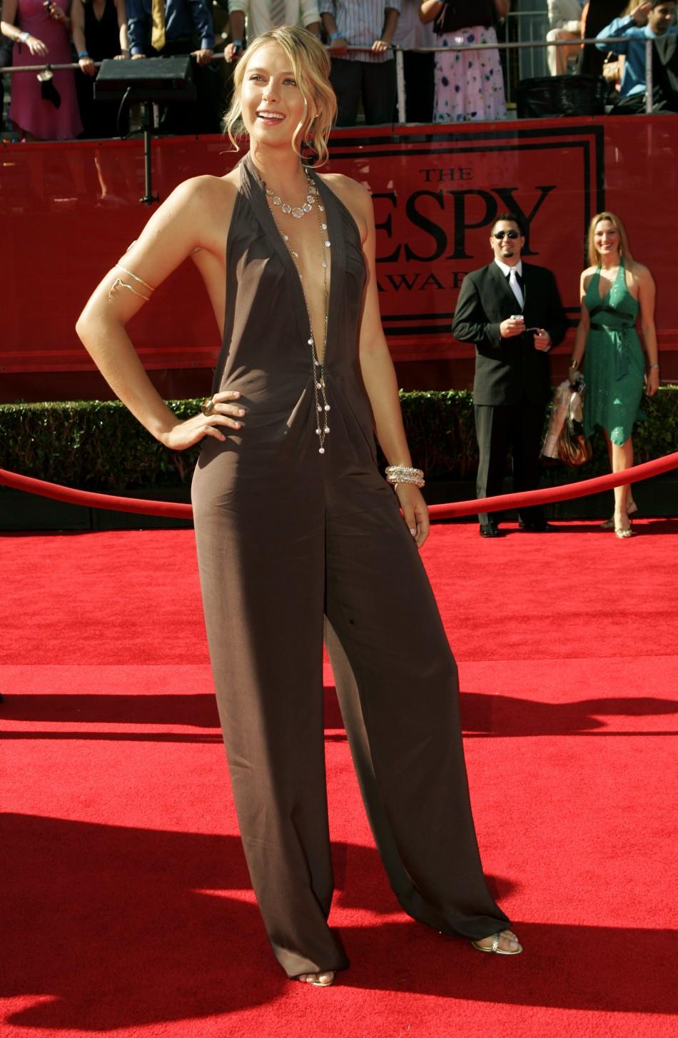 Maria Sharapova  At the 13th annual ESPY Awards in Hollywood.