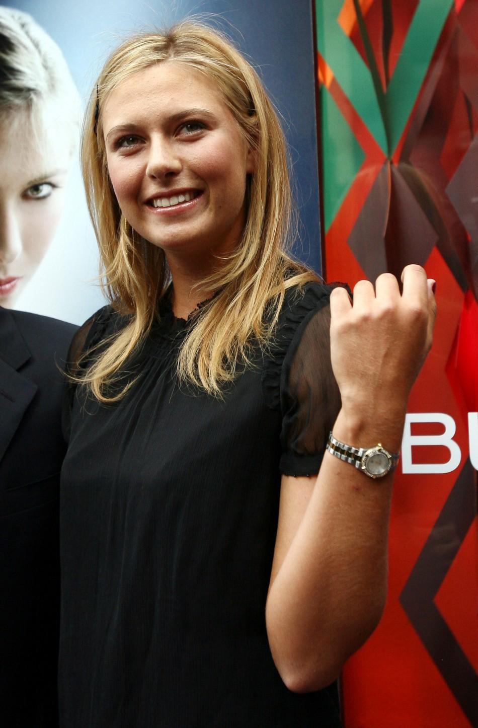 Maria Sharapova in New York