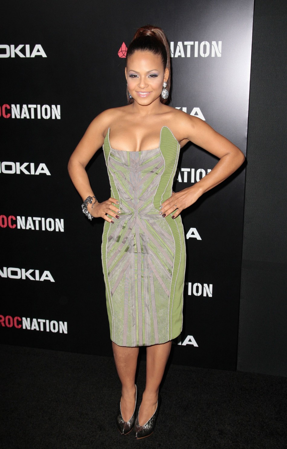 Actress and singer Christina Milian