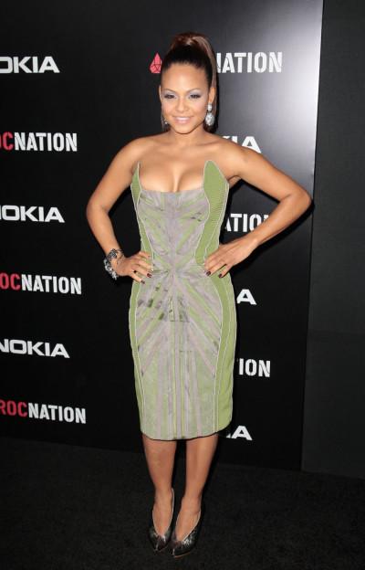 Actress and singer Christina Milian