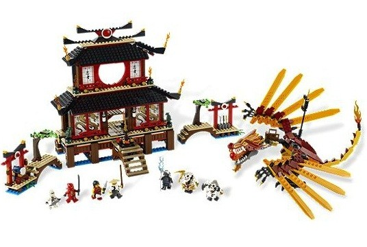 Lego Ninjavo Fire Temple