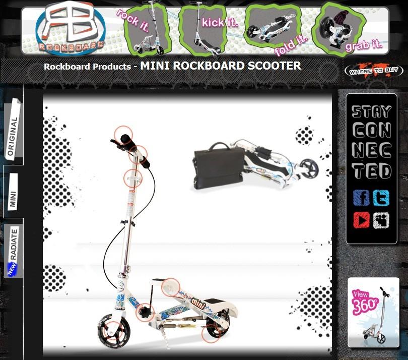 Rockboard Scooter Mini