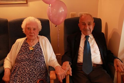 Britain's oldest married couple