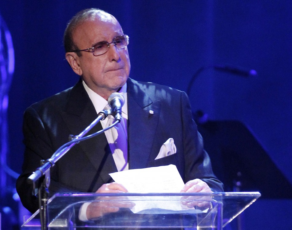 Record producer Clive Davis
