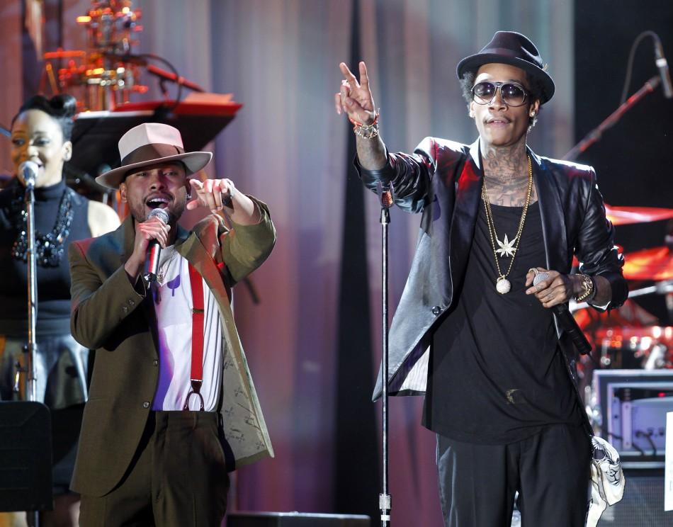 Singer Miguel and Rapper Wiz Khalifa