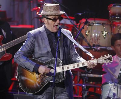 Musician Elvis Costello