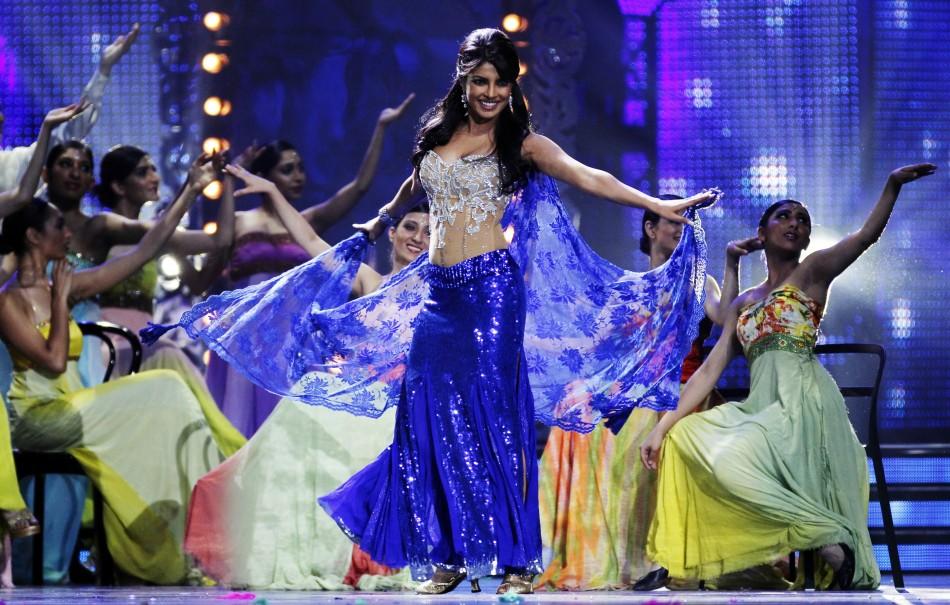 Priyanka Chopra performs during the IIFA awards show in Toronto