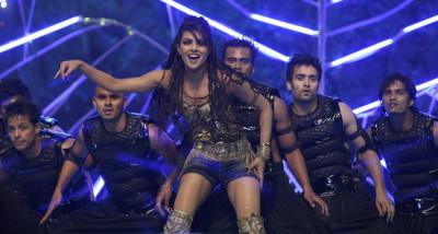 Bollywood actress Chopra performs during Stardust Awards in Mumbai