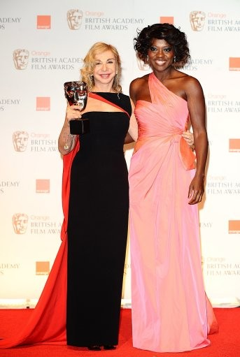Viola Davis and Francesca Lo Schiavo