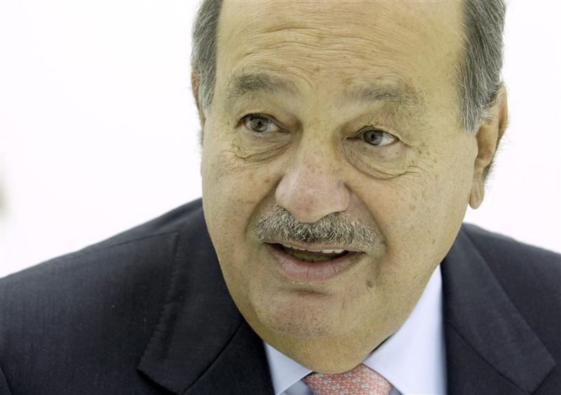 1. Mexico's Carlos Slim Helu