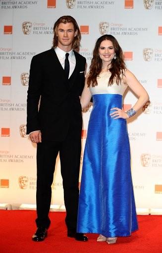 Chris Hemsworth and Hayley Atwell