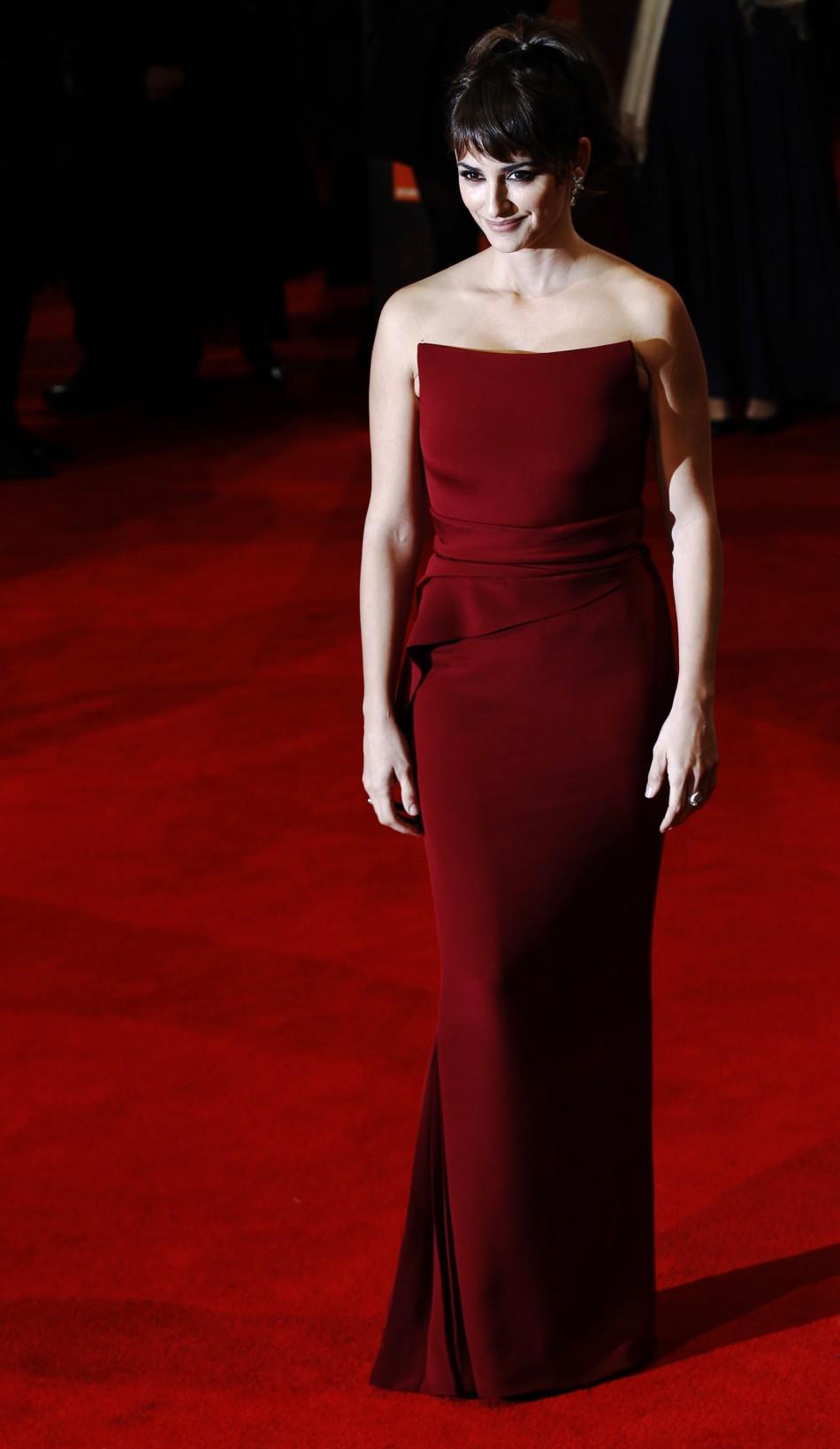 Actress Penelope Cruz