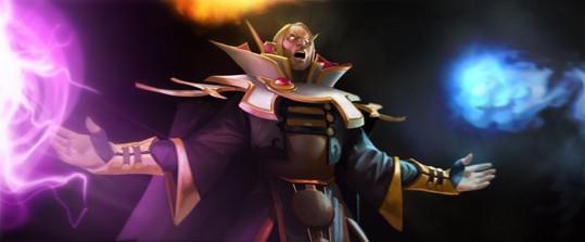 Invoker - One of DOTA's most versatile heroes