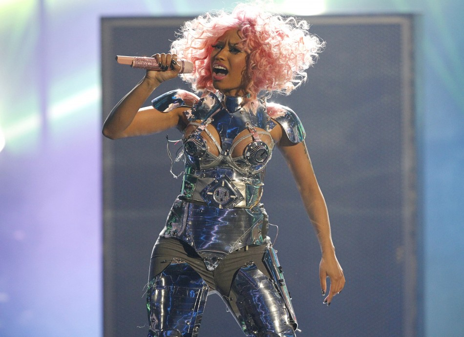 Nicki Minaj performs at the 2011 American Music Awards in Los Angeles