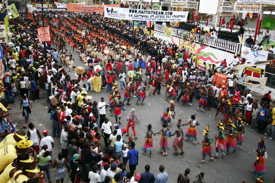 Haitians turn out in force for carnival in Port-au-Prince
