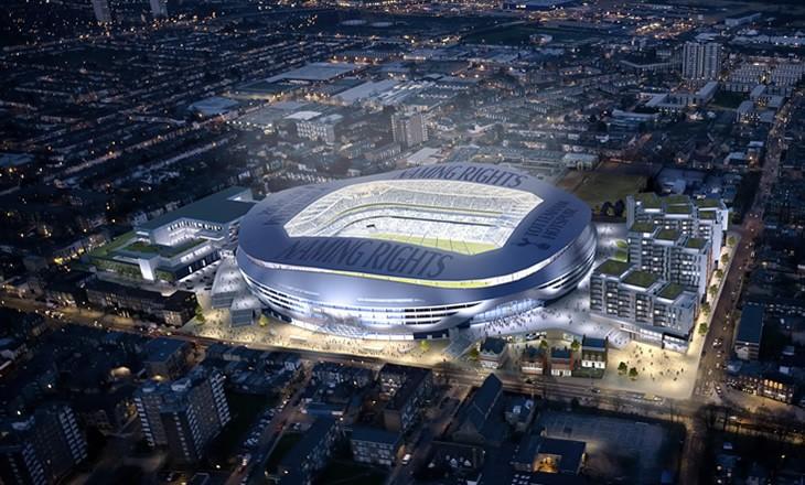 Spurs New Stadium