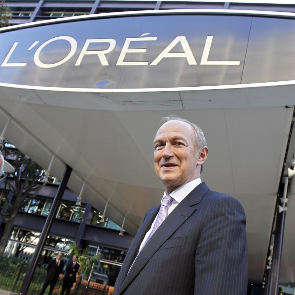 L'Oreal chief executive Jean-Paul Agon