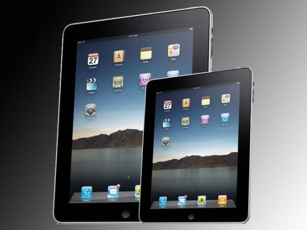 Artist's impression of what iPad Mini might look like