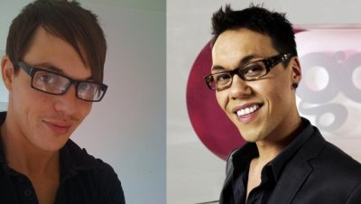 Gok Wan and Bobby Norris