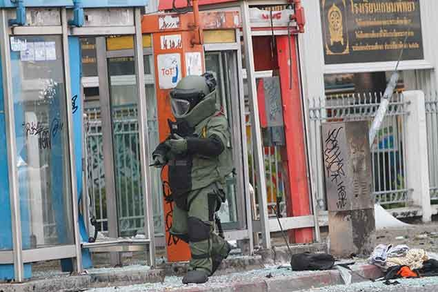Eyewitness Photos of Bangkok Blasts