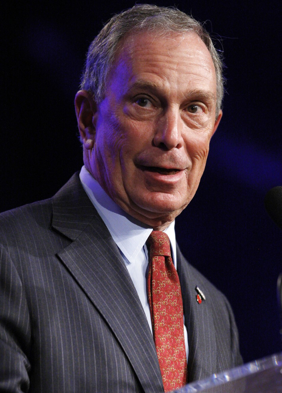 No 10 Michael Bloomberg