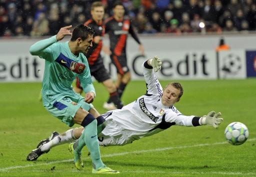 Barcelona v Bayer Leverkusen