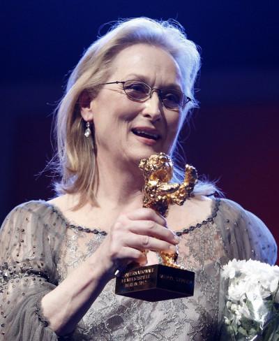 Meryl Streep Honoured with Golden Bear award