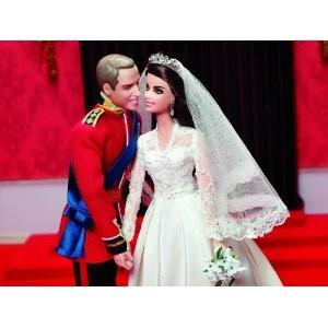 The Duke and Duchess of Cambridge Barbie doll