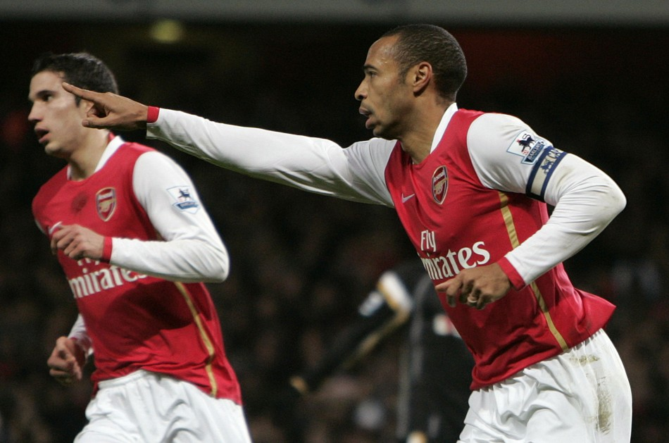 Van Persie and Henry