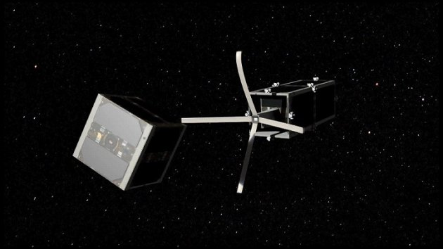 Swiss plan to take broom to space junk