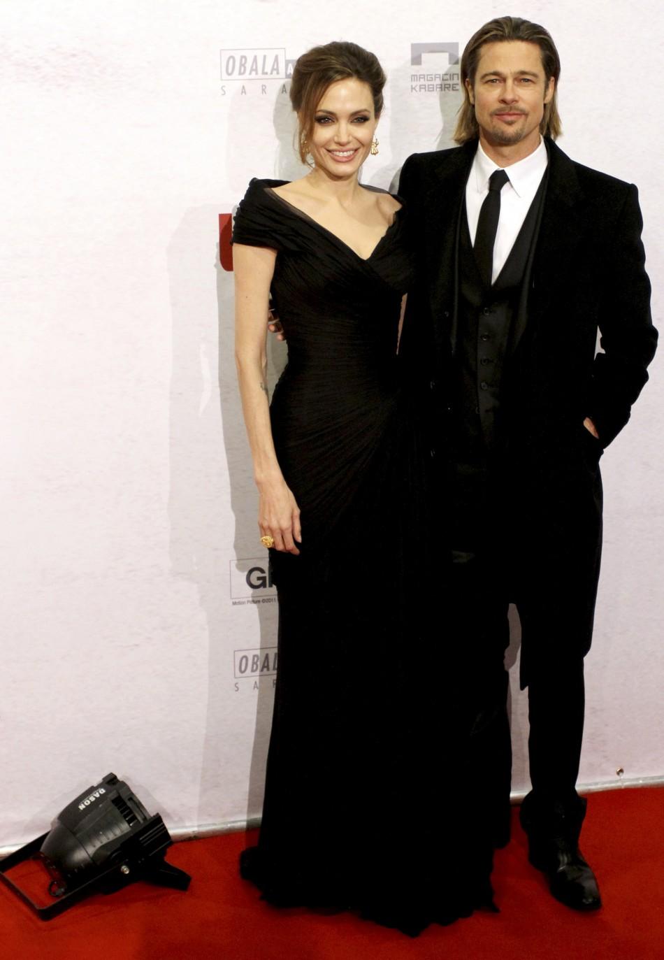 U.S. actress and director Angelina Jolie