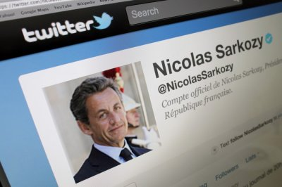 Sarkozys new Twitter Account