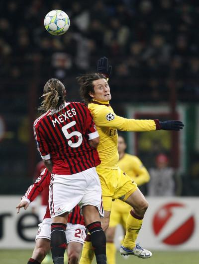 AC Milan vs. Arsenal Champions League Round of 16 First Leg