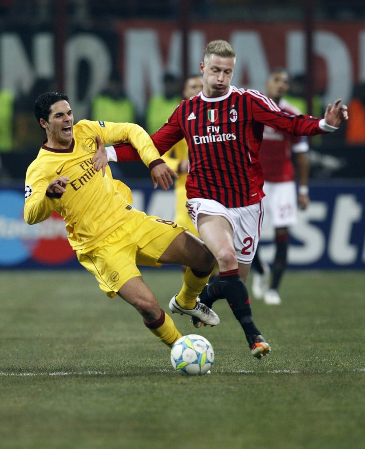 AC Milan vs. Arsenal (Champions League Round of 16 First Leg)